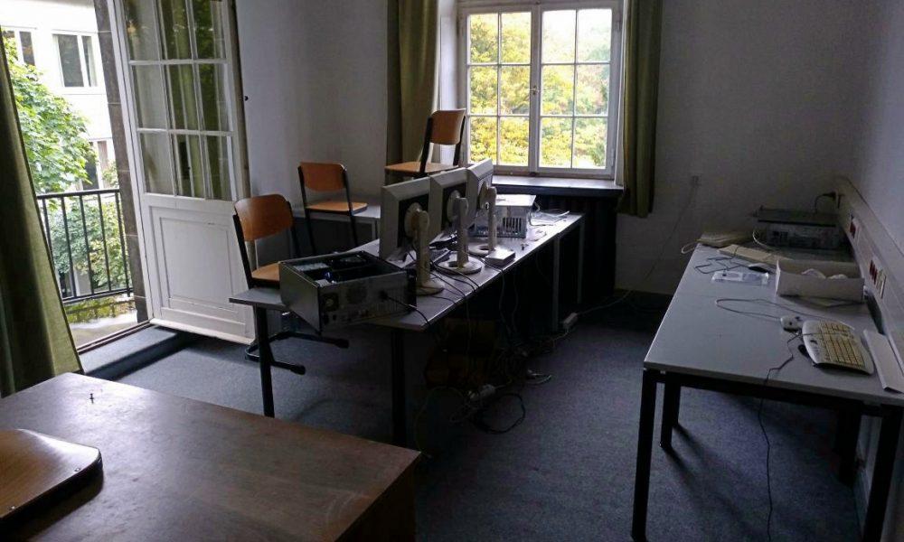 Bild unseres Redaktionsraum