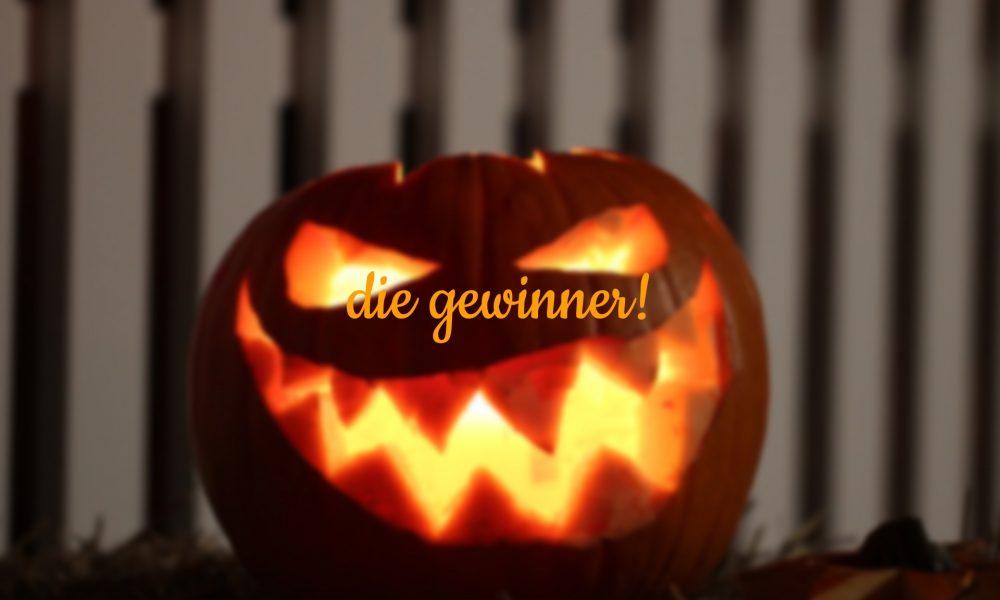 Halloween-Kürbis mit Aufschrift