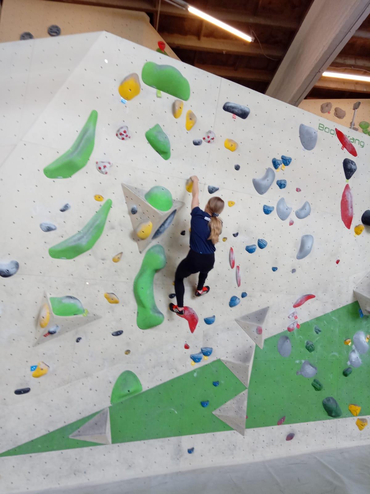 Bouldern am Freitag morgen