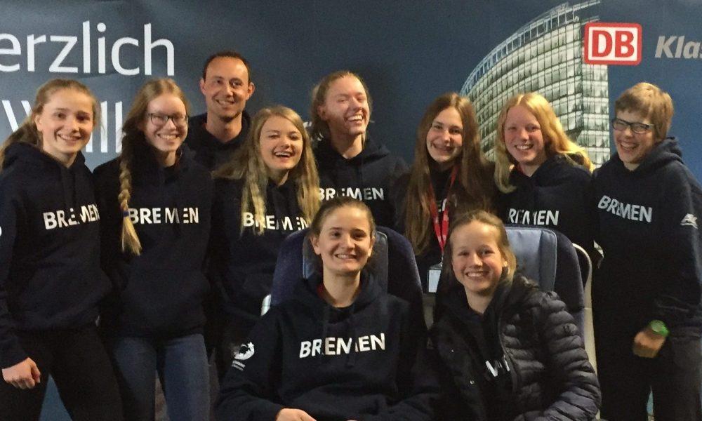 Das Volleyball-Team der Bremer