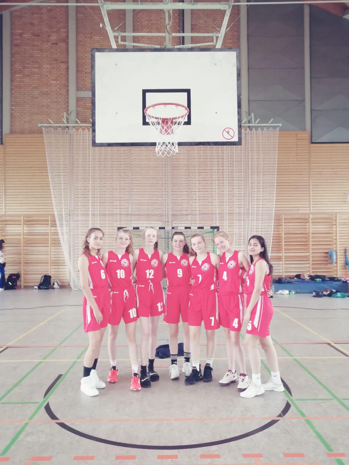 Basketball-Spielerinnen