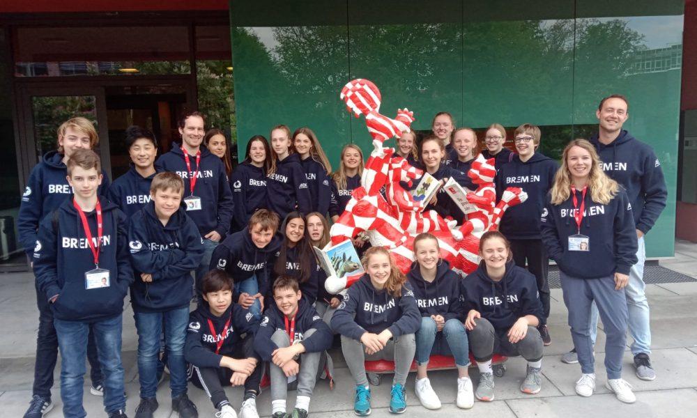 Gruppenbild von Jugend trainiert für Olympia