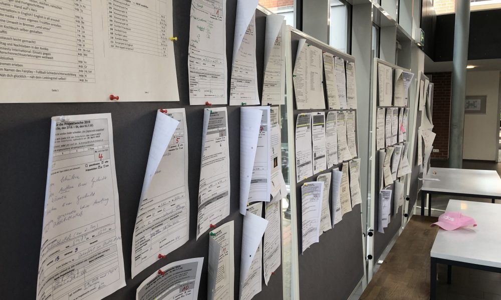 Übersicht der Projekte 2019