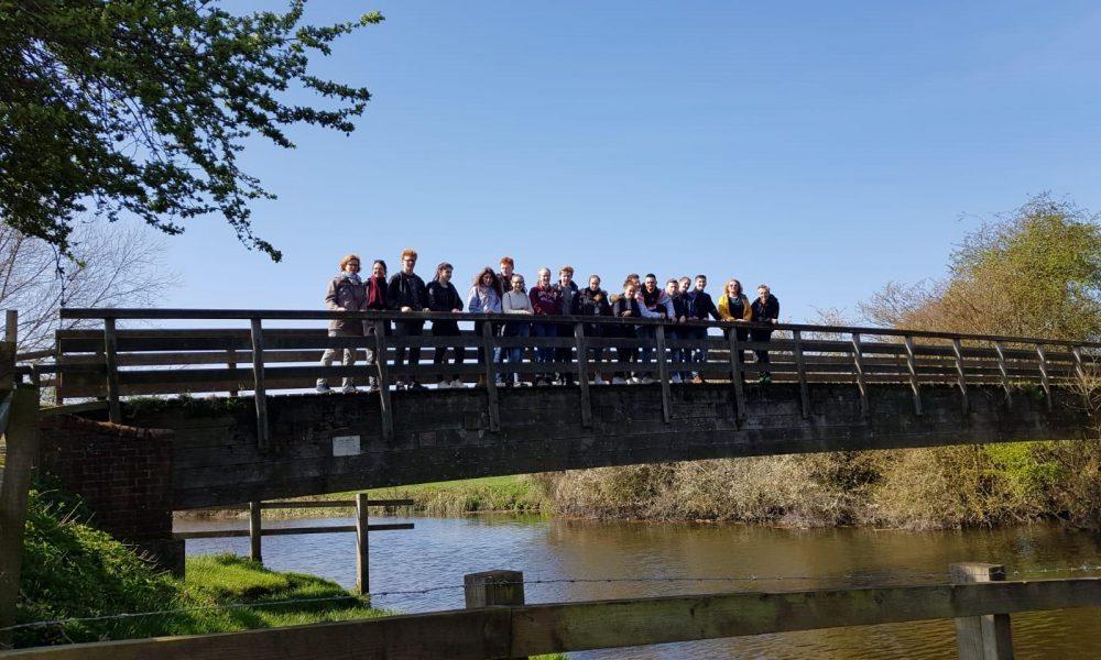 Colchester Austausch auf Brücke