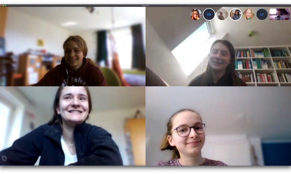 Videokonferenz von kippebloggt