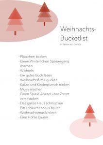 Weihnachts-Bucketlist (Liste)
