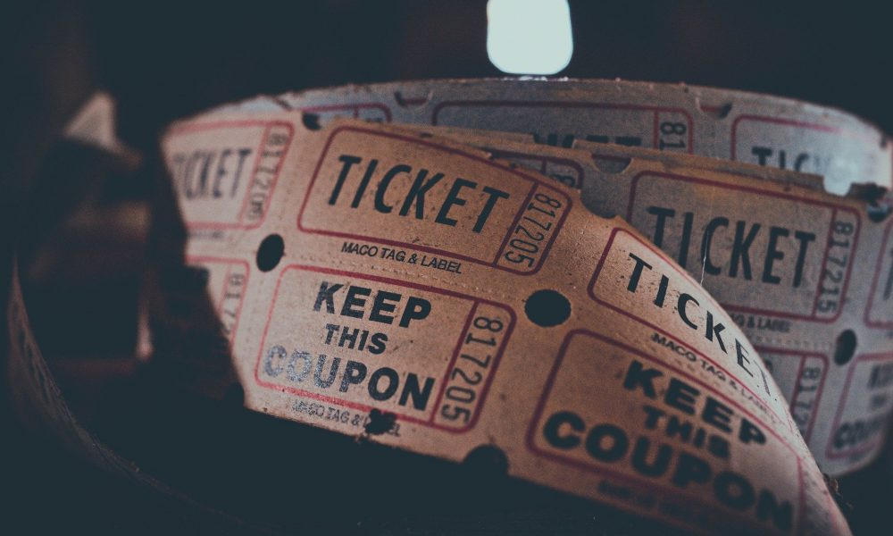 Ticketkarten-Rolle