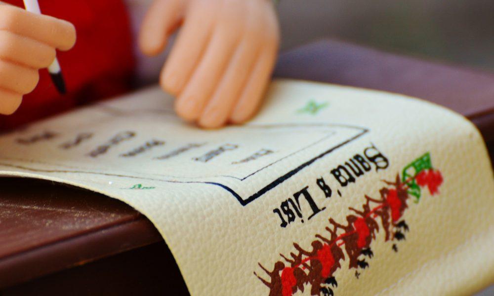 Wunschliste für Weihnachten