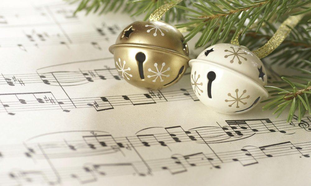 Weihnachtsglocken auf Noten