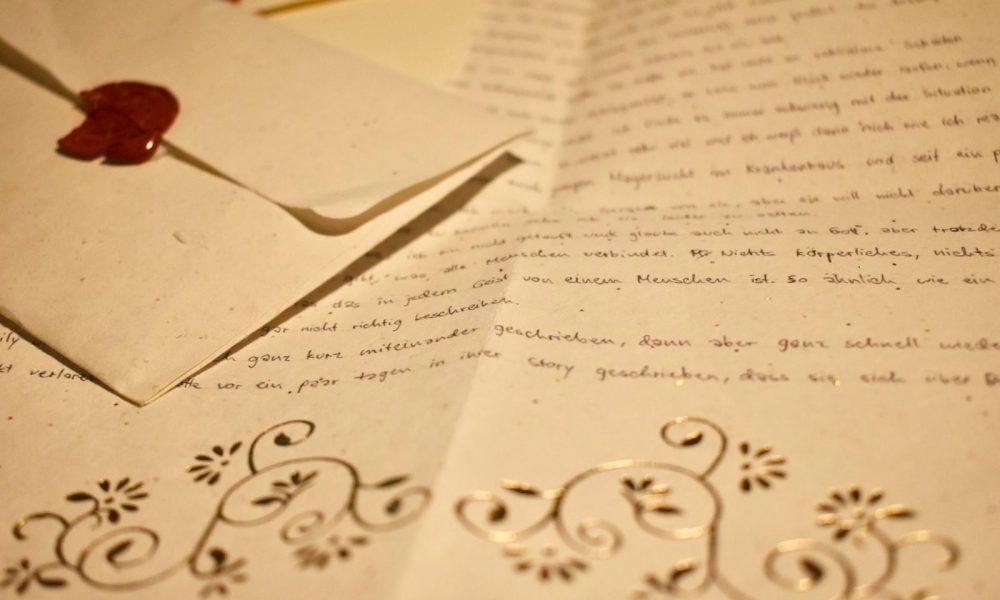Brief und Briefumschlag