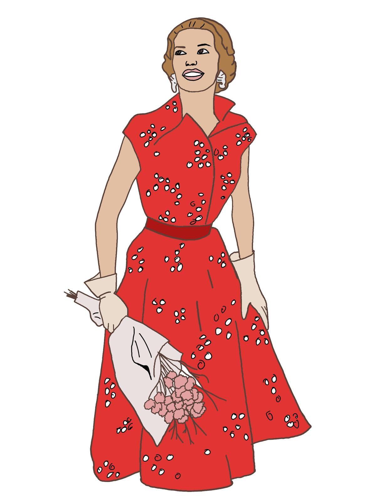 Modestil der 50er