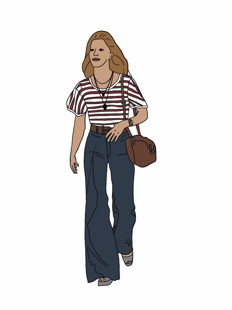 Modestil der 70er